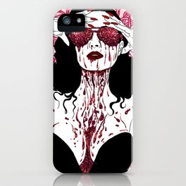 Scarlet Dita iPhone Case