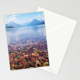 Lake McDonald Stationery Cards