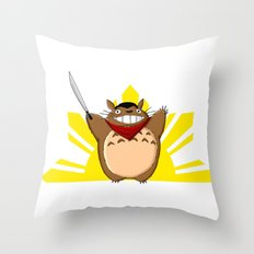 Totoro Bonifacio Throw Pillow