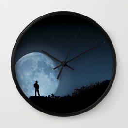 Man in the Moon Wall Clock