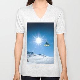 Snow time Unisex V-Neck