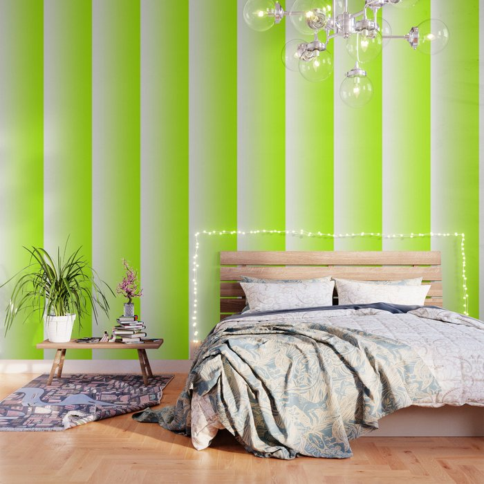 White and Lime Green Gradient 028 Wallpaper by colorgradient