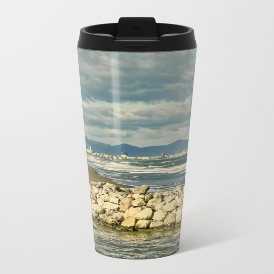Sea and Sky Metal Travel Mug