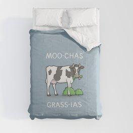 Moo-chas Grass-ias Comforters