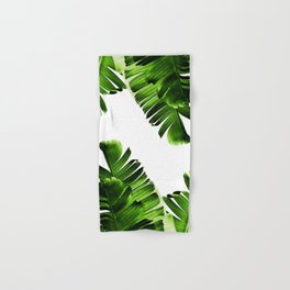 Green banana leaf Hand & Bath Towel