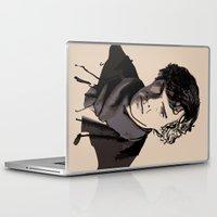 sherlock Laptop & iPad Skins featuring Sherlock by joshuahillustration