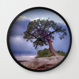 The Tree on the Edge Wall Clock
