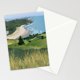 View from Cascade Head Stationery Cards