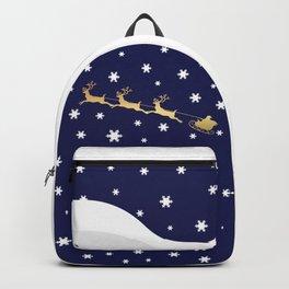 Christmas Santa Claus Backpack