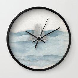 Floating Ship Wall Clock