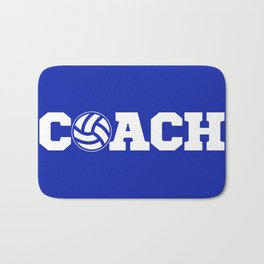 Coach Volleyball Bath Mat