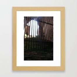 light, out of reach Framed Art Print