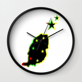 Grenada Tropical Islands Wall Clock