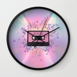 Mix Tape Vol 1 Wall Clock