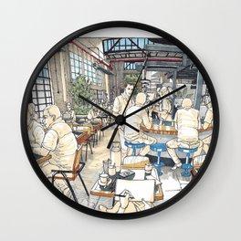 Veneziano Roastery Wall Clock
