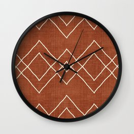 Nudo in Rust Wall Clock