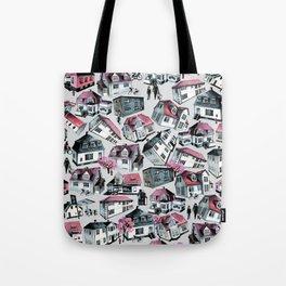 Danish small town pattern Tote Bag
