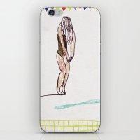 swimming pool iPhone & iPod Skin