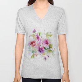 Gentle bouquet Unisex V-Neck