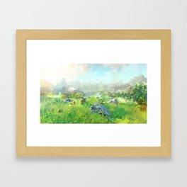 Breath of the Wild Framed Art Print