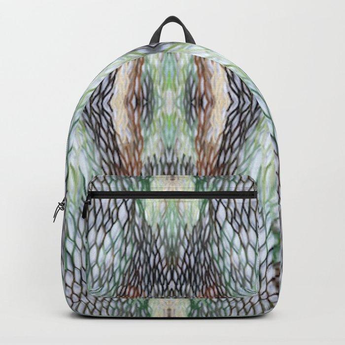 Honeycomb Green Backpack