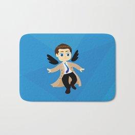 Angel Castiel Supernatural Bath Mat