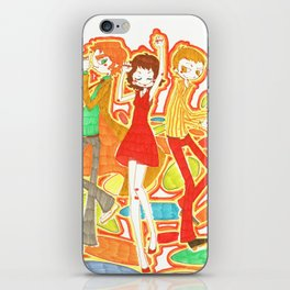 70s Disco Fever iPhone Skin