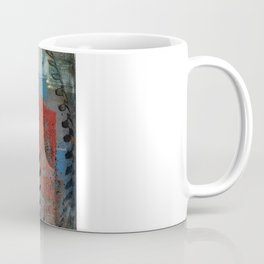 Painted Baseball Coffee Mug