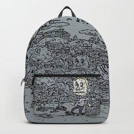 Manual pad Backpack
