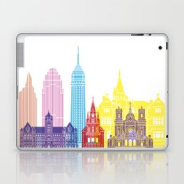 Minneapolis V2 skyline pop Laptop & iPad Skin
