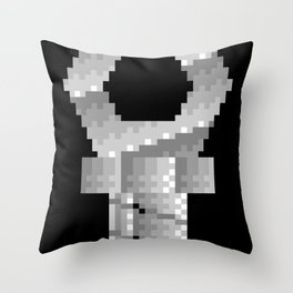 Snapping Claw - 16bit steel Throw Pillow