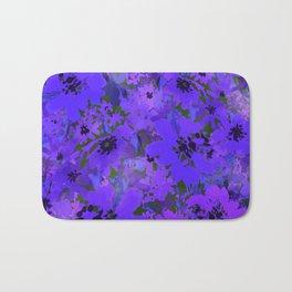Heavenly Blue Garden Bath Mat