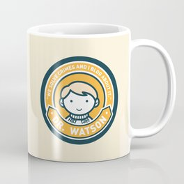 Cute John Watson - Orange Coffee Mug