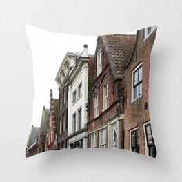 Amsterdam Winter Throw Pillow