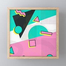 Arbitrary Memphis Framed Mini Art Print