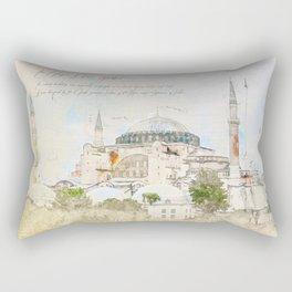 Hagia Sophia, Istanbul Rectangular Pillow