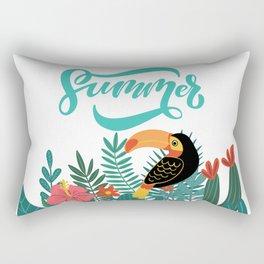 Tropical Summer Rectangular Pillow