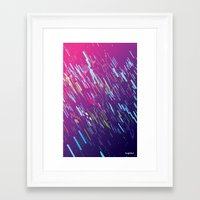 aurora Framed Art Prints featuring Aurora by ThoughtCloud