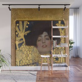 Gustav Klimt - Judith and the Head of Holofernes Wall Mural