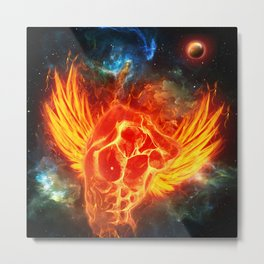 fly like a phoenix Metal Print