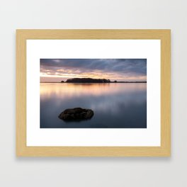 Hikshari' Sunset - Again Framed Art Print