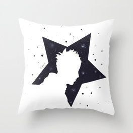 Star Man (Silhouette) Throw Pillow