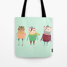 The Cats. Tote Bag