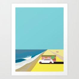 Mar de Cortez Art Print