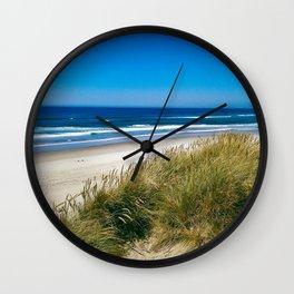 Ship of sand Wall Clock