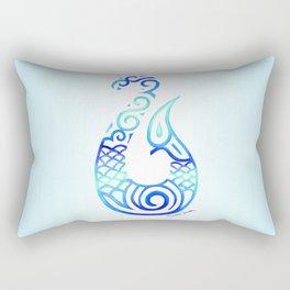 Tribal Fish Hook Rectangular Pillow