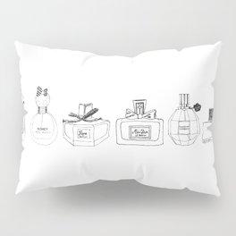 Boudoir Glamour Perfumes Print Pillow Sham
