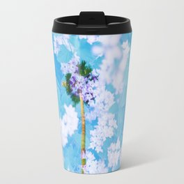 Palm Blossoms v2 Travel Mug