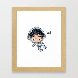 Space Tod Framed Art Print