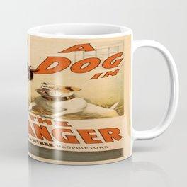 Vintage poster - A Dog in the Manger Coffee Mug